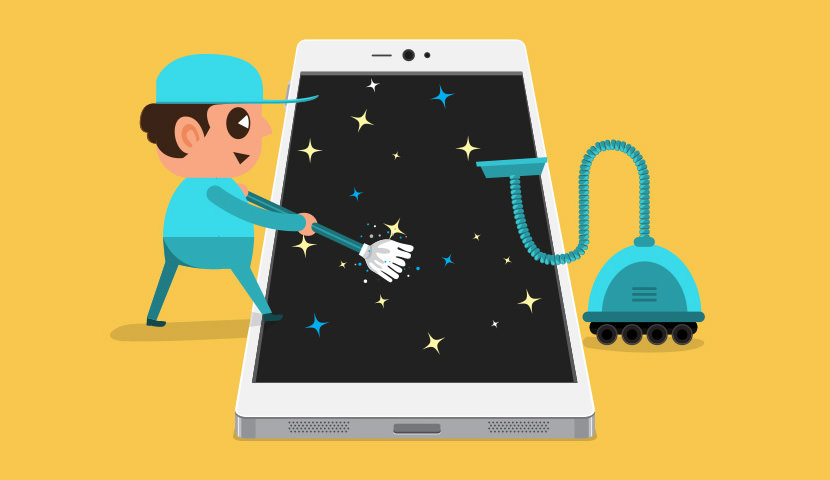 uninstall unused apps, remove battery draining apps, clean your android device